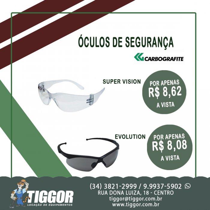 Óculos CARBOGRAFITE  - Promoções - Tiggor Locação de Equipamentos - Patos de Minas - MG