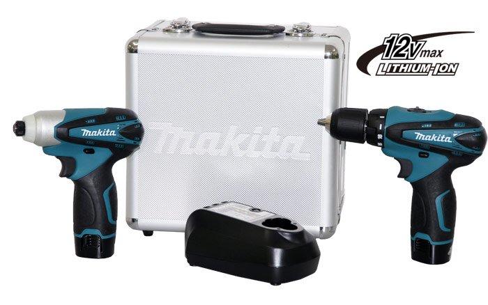 Combo de ferramentas Makita LCT 204 - Parafusadeiras - Tiggor Locação de Equipamentos - Patos de Minas - MG