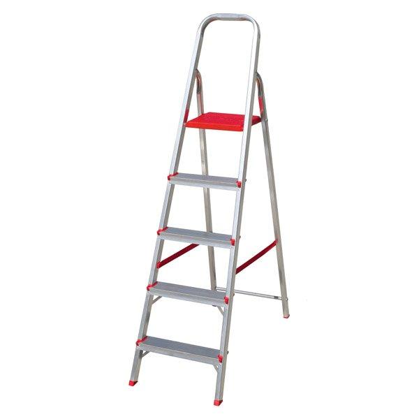 Escada 5 degraus Bota Fogo - Escadas - Tiggor Locação de Equipamentos - Patos de Minas - MG