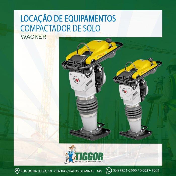 Compactador - Promoções - Tiggor Locação de Equipamentos - Patos de Minas - MG