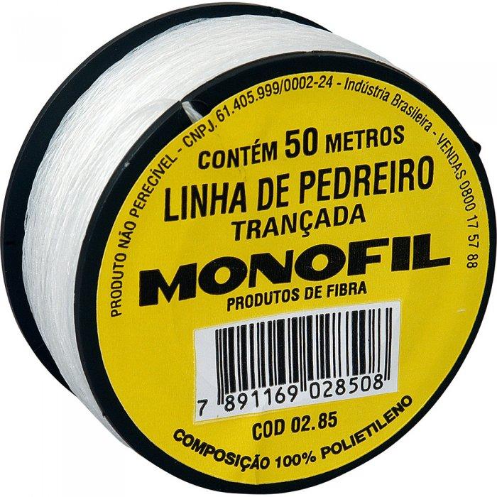 Linha de pedreiro Monofil - Produtos - Tiggor Locação de Equipamentos - Patos de Minas - MG